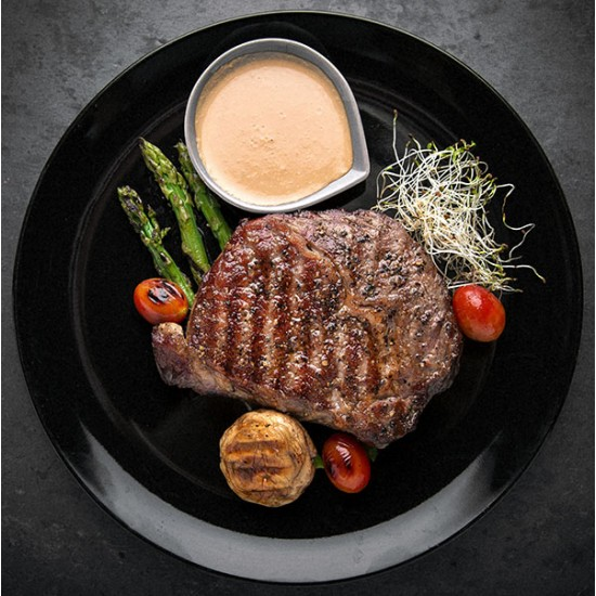 Grillet steak af oksefilét