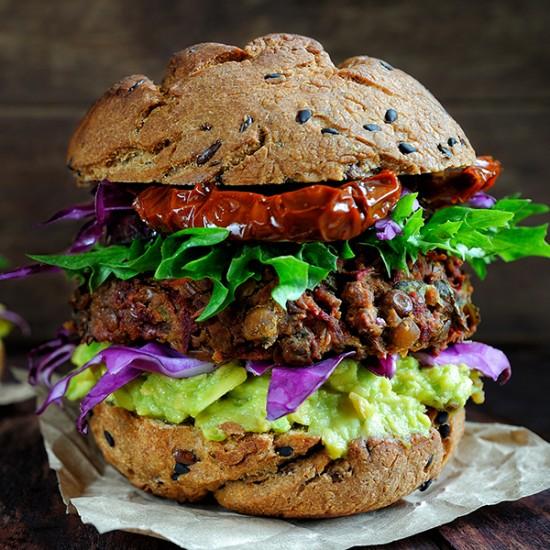 Glasgow  ( vegetarian Burger )