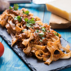 Spaghetti ala creme ( Tirsdag )