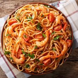 Spaghetti Skaldyr